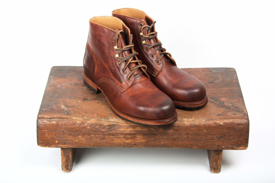 Brune rundsnudede støvler, produktbillede