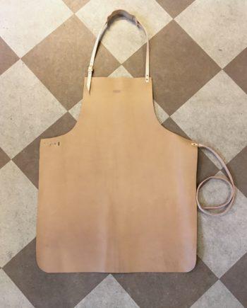 Lædersmeden forklæde apron leatherforklæde leather handmade quality danish design