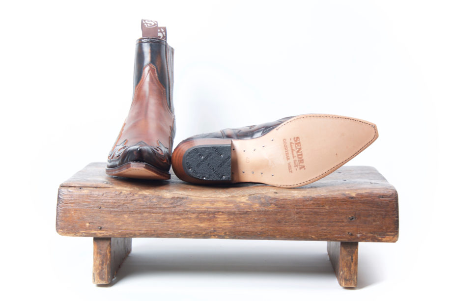 4660 Sendra Lædersmeden boot boots støvle støvler cowboystøvle cowboystøvler western