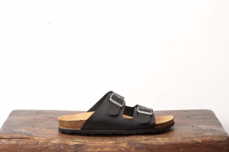 Sort sandal til kvinder