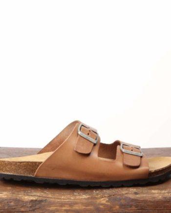 Brun sandal til kvinder