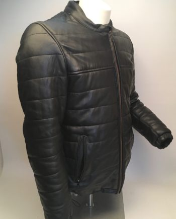 leather jacket padded lædersmeden leather quality