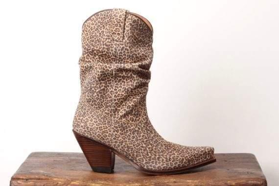 Sanne Salomonsen Støvle Leopard