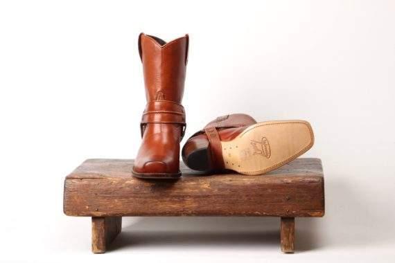 Brun Biker Sanne Salomonsen Støvle