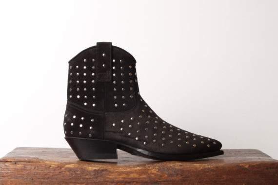 Sendra Støvle med nitter