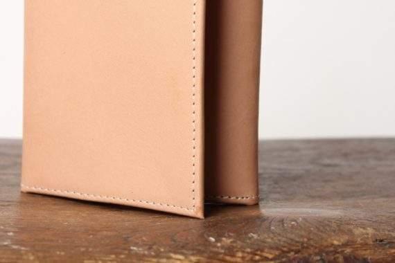 Brun basic læderpung fra Lædersmeden