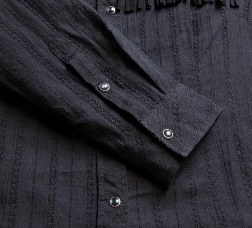 westernskjorte aerme, produktbillede