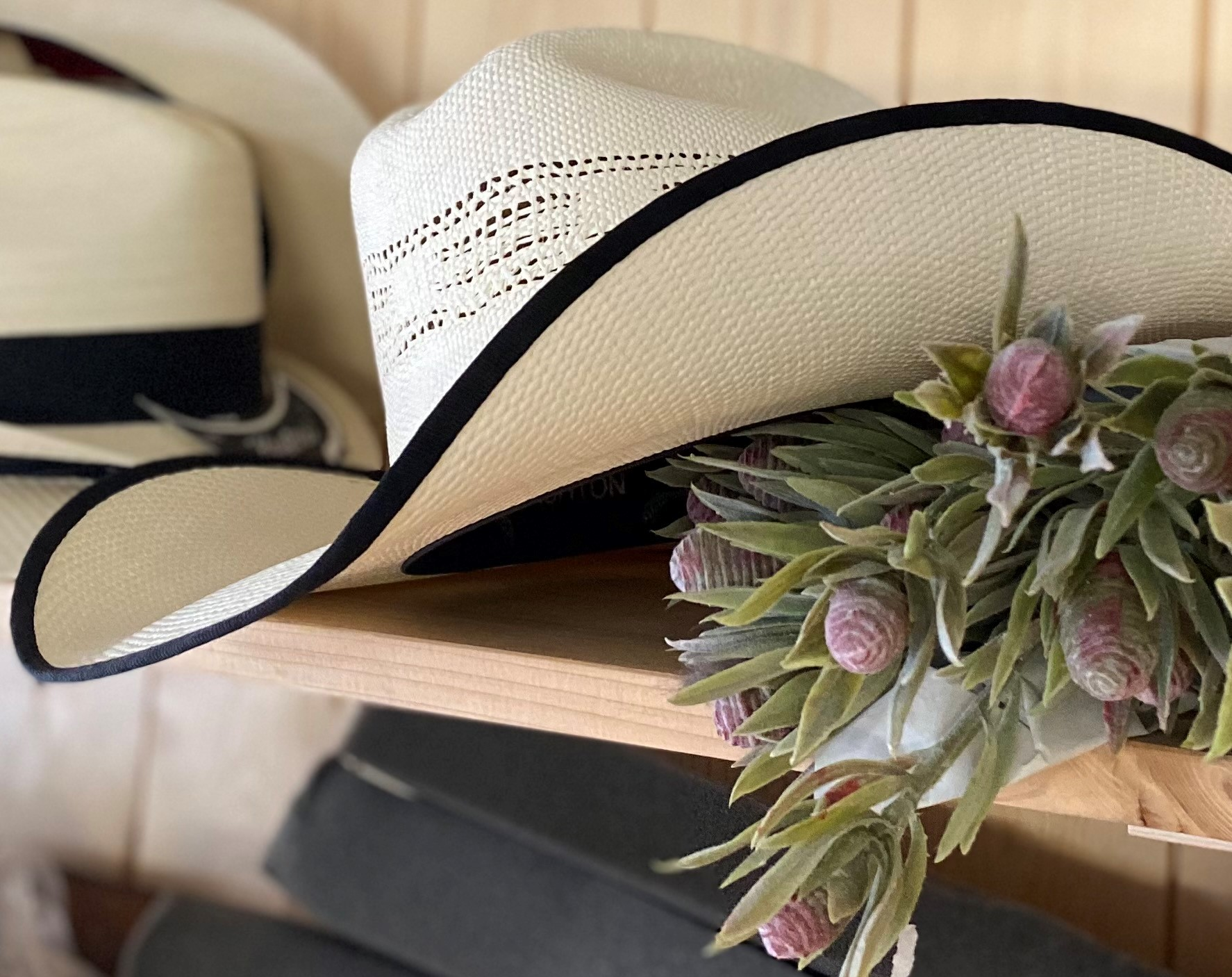 cowboyhat-Laedersmeden