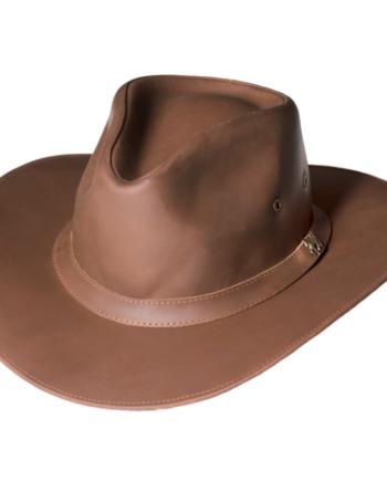 cowboyhat-brun-leather-alan