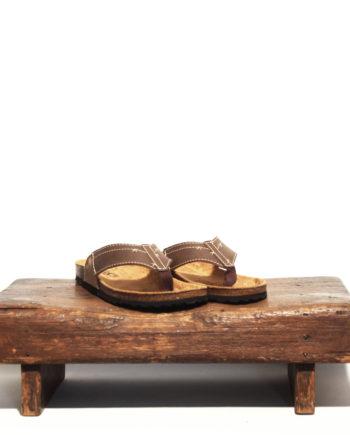 brun sandal mykonos