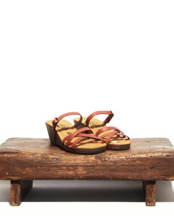 rød sandal brenda